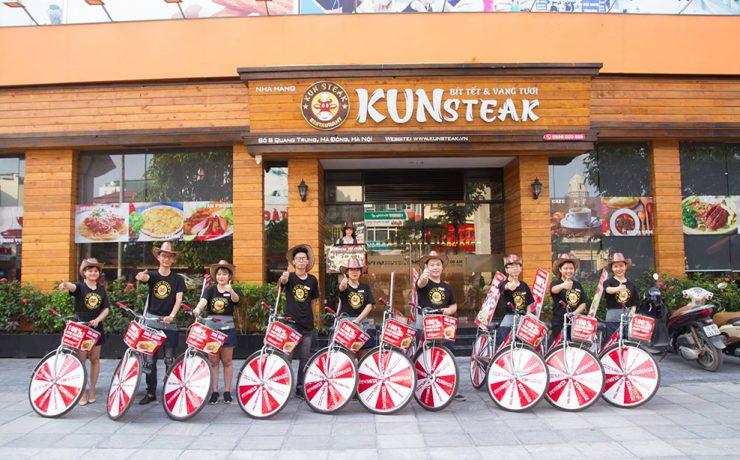 Dự án Tư vấn setup và vận hành nhà hàng KUNsteak