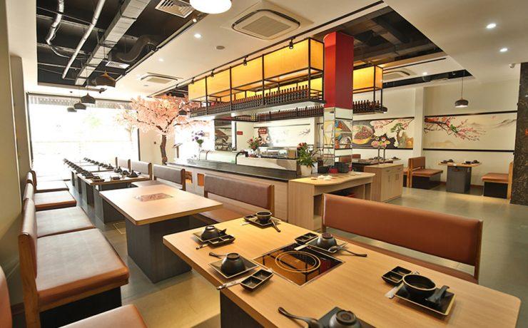 Dự án Tư vấn setup và thiết kế xây dựng Nhà Hàng Yummy BBQ-Seafood